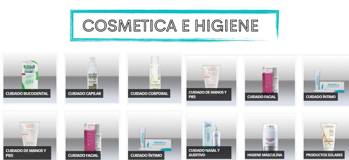 Cosmética e higiene