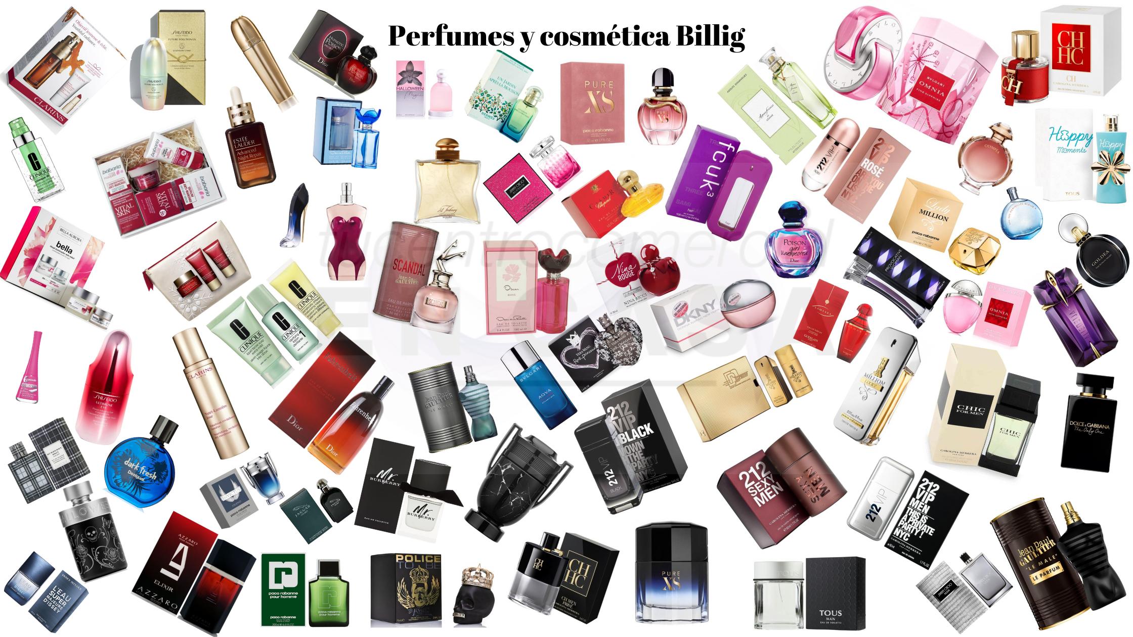 Perfumes y cosmética