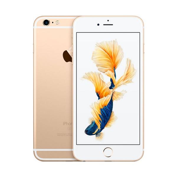 Apple iphone 6s plus 64gb oro reacondicionado cpo móvil 4g 5.5'' retina fhd/2core/64gb/2gb ram/12mp/5mp