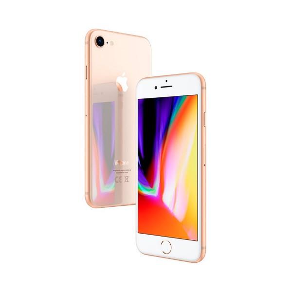 Apple iphone 8 64gb dorado móvil 4g 4.7'' retina hd/6core/64gb/2gb ram/12mp/7mp