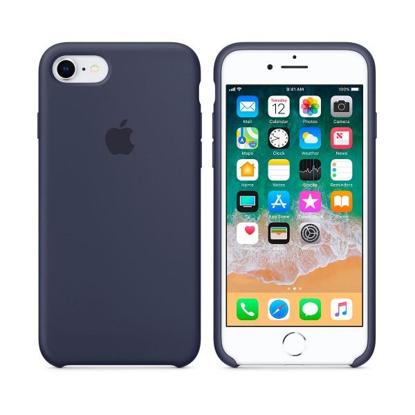 Apple mqgm2zm/a azul noche carcasa de silicona iphone 8/7
