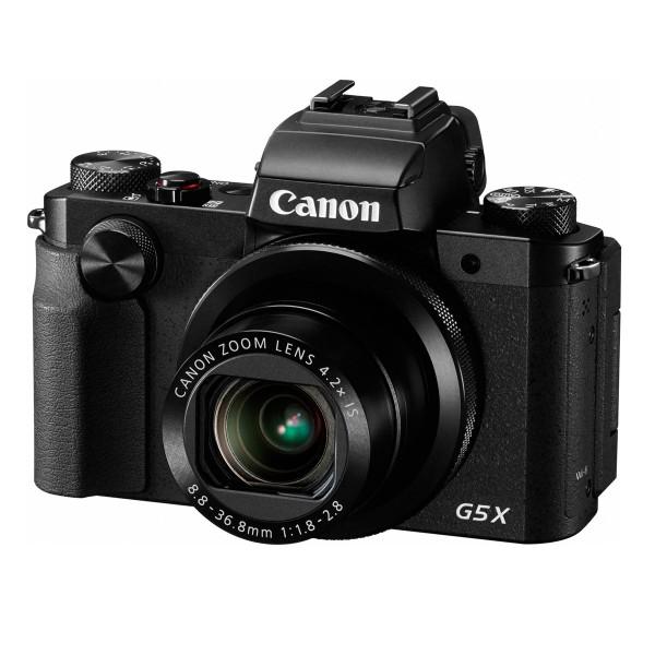 Canon powershot g5 x negra cámara de fotos digital compacta 20.2mp