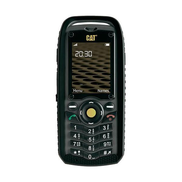 Cat b25 negro-amarillo móvil dual sim resistente con cámara y bluetooth