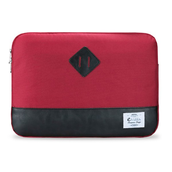 E-vitta evls000162 sleeve heritage rojo/negro funda para portátil 15.6''