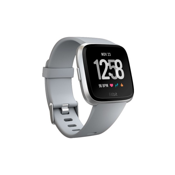 Fitbit fb505rgy versa smartwatch deportivo silver