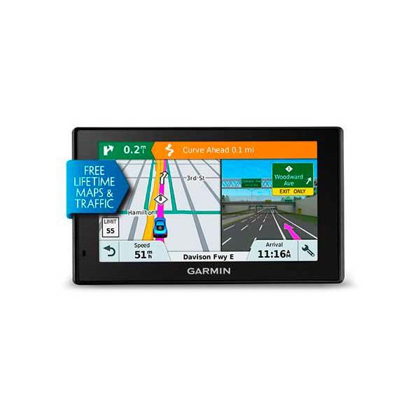 Garmin drive 51 eu lmt-s  gps con mapas preinstaldados de europa pantalla de 5'' orientación dual mapas y contingencias de por vida