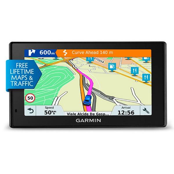 Garmin drivesmart 51 we lmt-s gps con mapas preinstalados de europa occidental pantalla de 5''