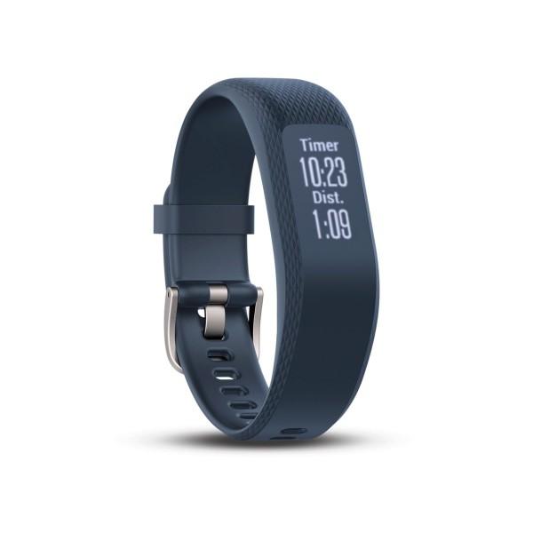 Garmin vivosmart 3 azul talla s/m pulsera monitor de actividad inteligente