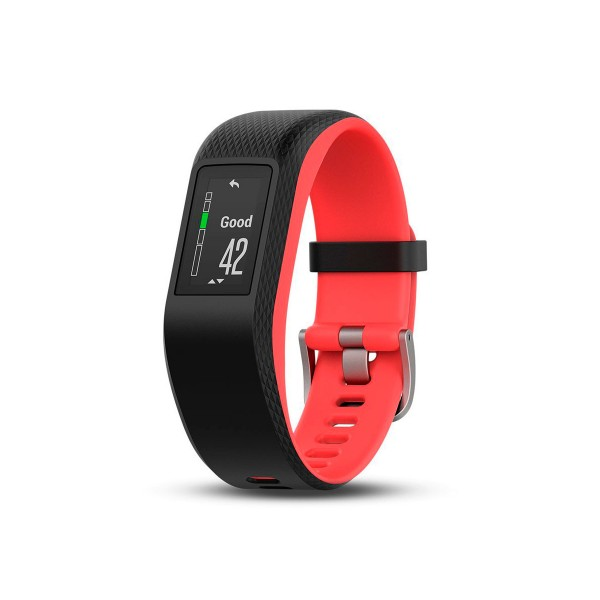 Garmin vivosport fucsia s/m pulsera de actividad inteligente con sensor de frecuencia cardíaca gps y bluetooth