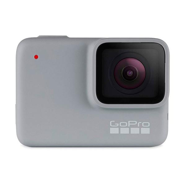 Go pro hero7 white (2018) cámara deportiva 10mp full hd wifi bluetooth pantalla táctil y control por voz