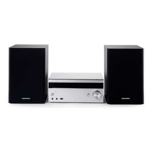 Grundig m3000bt sistema de audio hi-fi 100w rms bluetooth reproductor usb cd aux radio fm