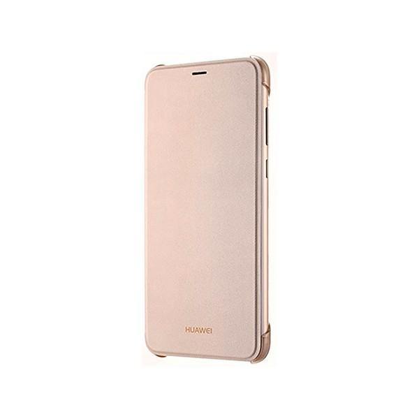 Huawei funda flipcover dorado huawei p smart