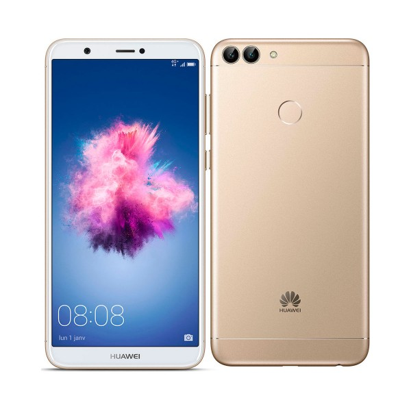 Huawei p smart dorado móvil 4g dual sim 5.65'' ips fhd+/8core/32gb/3gb ram/13mp+2mp/8mp