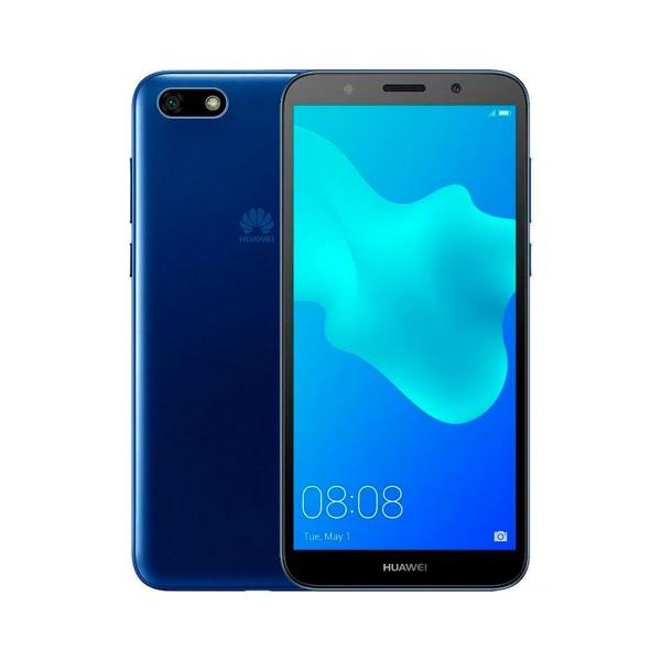 Huawei y5 (2018) azul móvil 4g dual sim 5.45'' ips hd+/4core/16gb/2gb ram/8mp/5mp