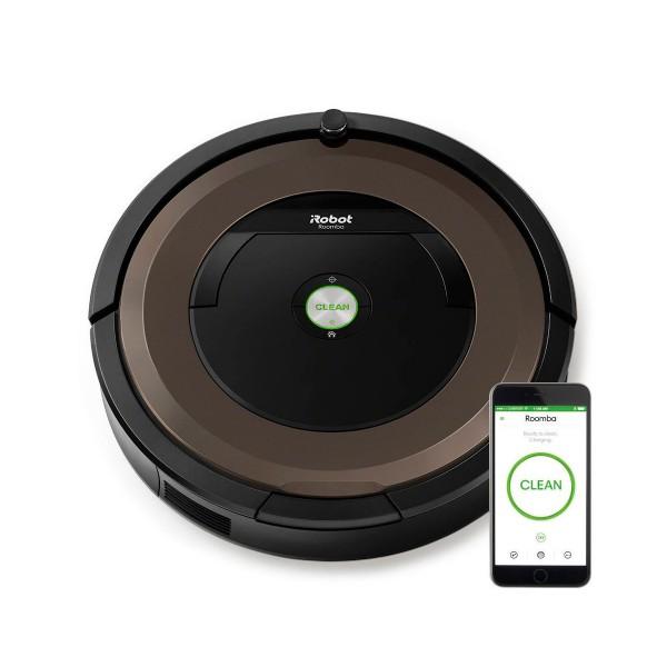 Irobot roomba 896 marrón robot aspirador inteligente de alto rendimiento con control remoto a través de app irobot home
