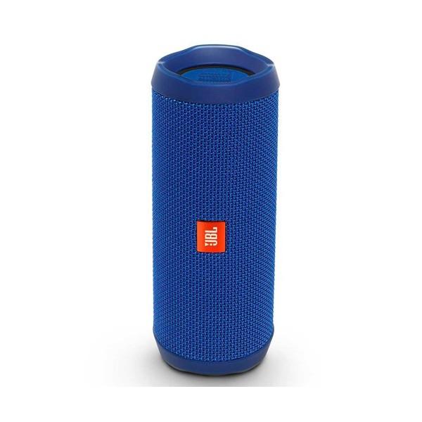 Jbl flip 4 azul altavoz inalámbrico bluetooth 16w amplificador integrado resistente al agua