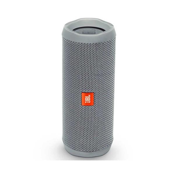 Jbl flip 4 gris inalámbrico bluetooth 16w amplificador integrado resistente al agua