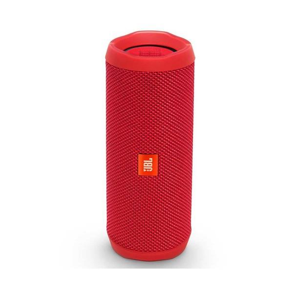 Jbl flip 4 rojo inalámbrico bluetooth 16w amplificador integrado resistente al agua