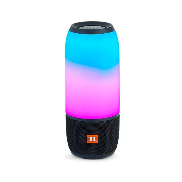 Jbl pulse 3 negro altavoz portátil 20w bluetooth resistente al agua luces personalizables 360º