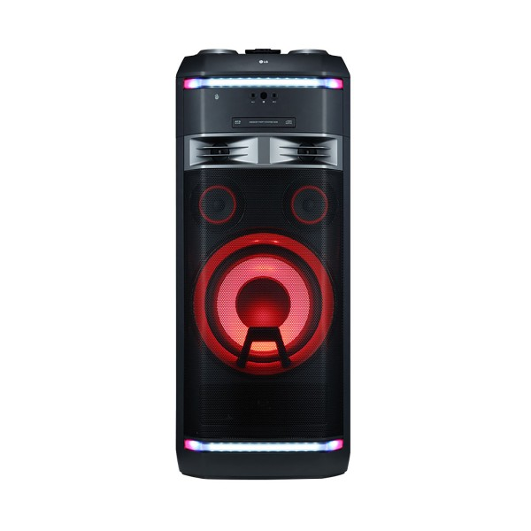 Lg xboom ok99 sistema de audio de alto voltaje 1800w bluetooth party link usb funciones dj y karaoke star