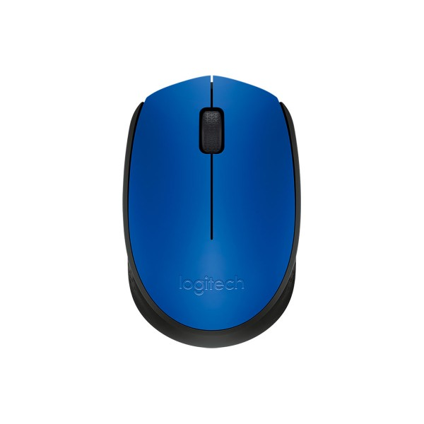 Logitech m171 azul ratón inalámbrico plug and play cómodo y portátil con conexión estable de hasta 10m