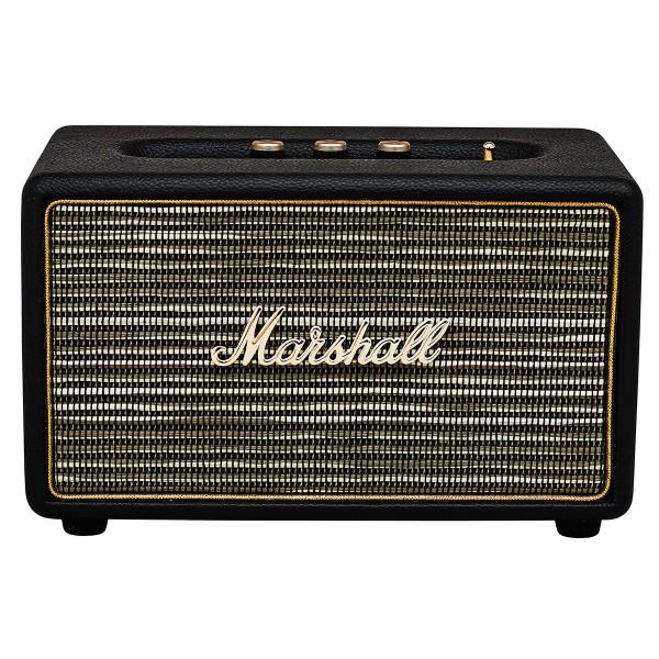 Marshall acton negro altavoz bluetooth 25w de diseño compacto vintage