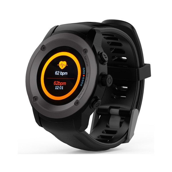 Maxcom fw17 power negro smartwatch reloj multideporte con gps incluye powerbank