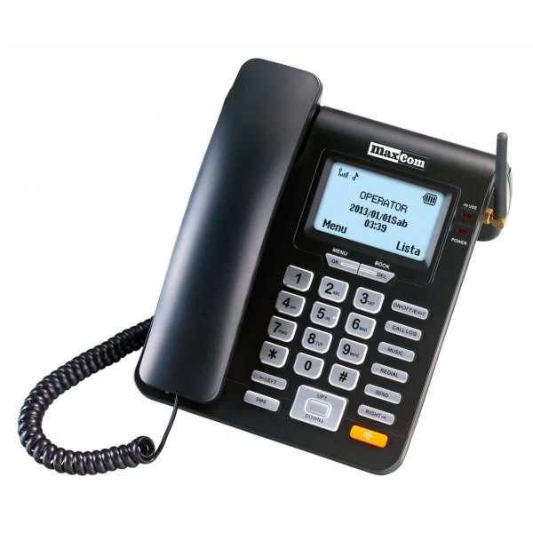 Maxcom mm28d teléfono sobremesa gsm