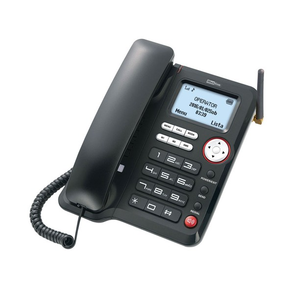 Maxcom mm29d teléfono sobremesa gsm 3g inalámbrico