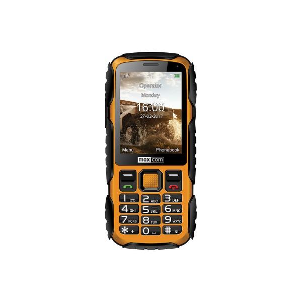 Maxcom mm920 amarillo móvil resistente con cámara y bluetooth