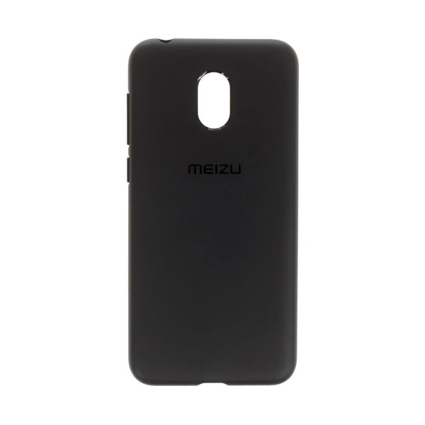 Meizu carcasa trasera negro + protector de pantalla meizu m8c