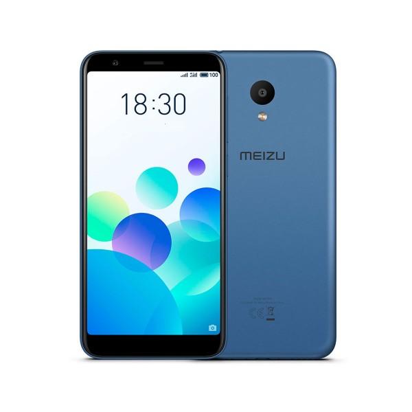 Meizu m8c azul móvil 4g dual sim 5.45'' ips hd+/4core/16gb/2gb ram/13mp/8mp
