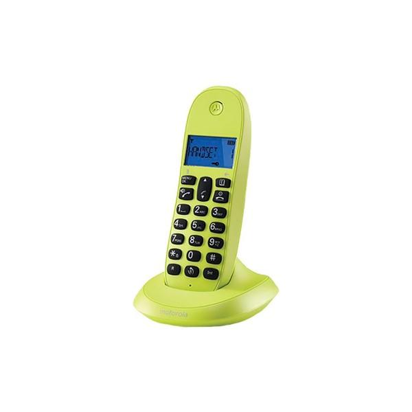 Motorola c1001lb+ lima teléfono inalámbrico con manos libres integrado