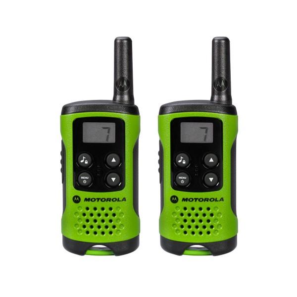 Motorola tlkr t41 verde walkie talkies 4km