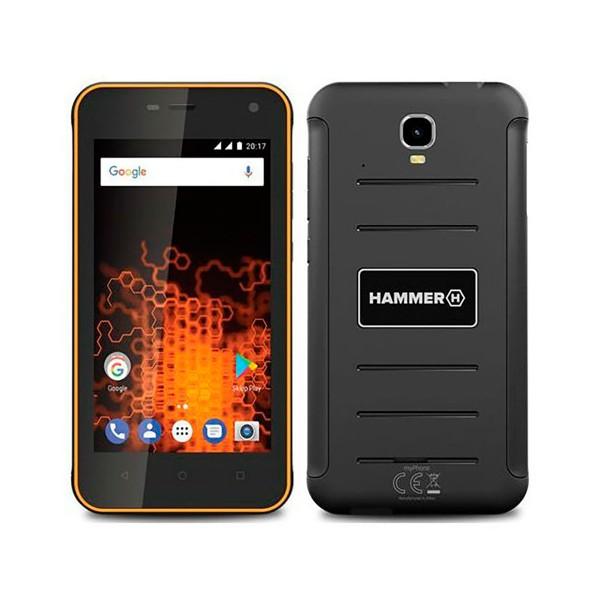 Myphone hammer active naranja móvil resistente 3g dual sim 4.7'' ips hd/4core/8gb/1gb ram/8mp/2mp