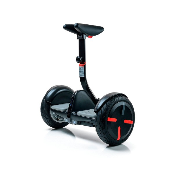 Ninebot segway minipro negro scooter eléctrico 18km/h bluetooth faros delanteros automáticos luces traseras led