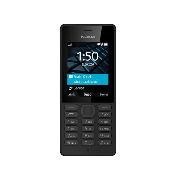 Nokia 150 (2017) negro móvil senior dual sim 2.4'' cámara vga bluetooth microsd radio fm