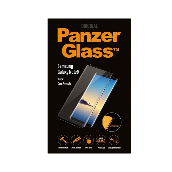 Panzerglass protector cristal negro ultraresistente samsung galaxy note9