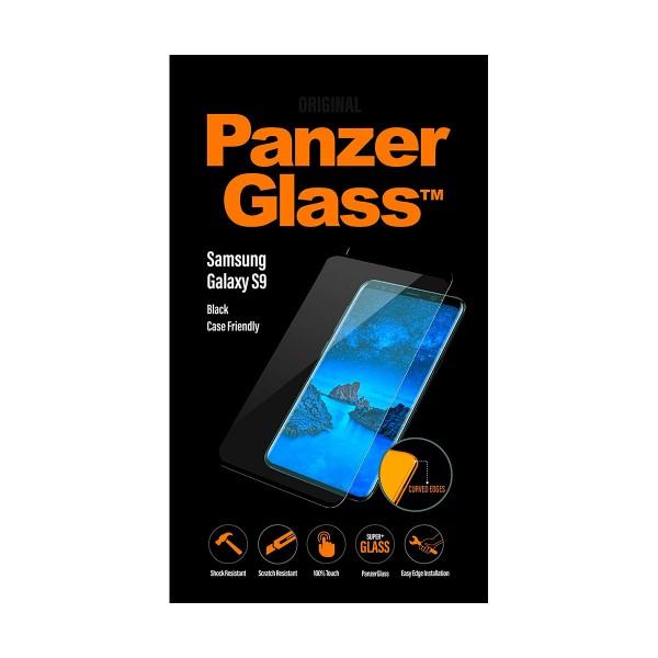 Panzerglass protector cristal negro ultraresistente samsung galaxy s9
