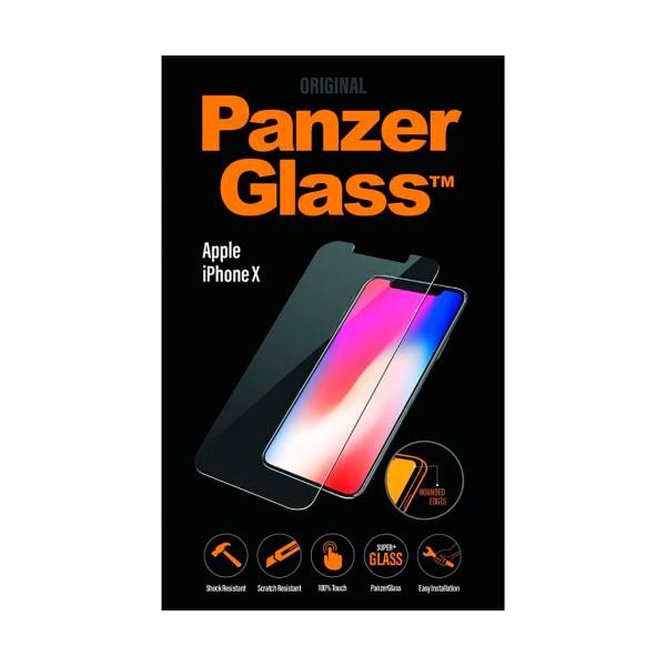 Panzerglass standard fit protector cristal ultraresistente apple iphone x