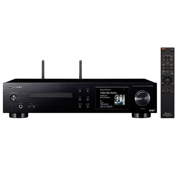 Pioneer nc-50dab sistema de audio todo en uno 50w amplificador clase d reproductor cd wifi bluetooth airplay entradas analógicas y digitales