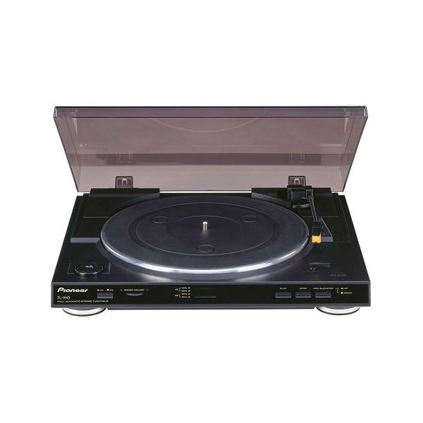 Pioneer pl-990 negro tocadiscos completamente automático con ecualizador de phono