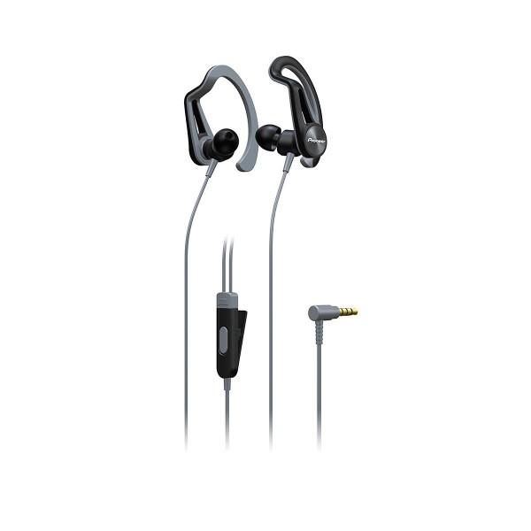 Pioneer se-e5t gris auriculares con micrófono diseño en 2 versiones ipx4