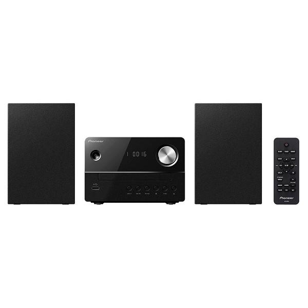 Pioneer x-em16 negro sistema de sonido con amplificador digital reproductor usb cd radio fm