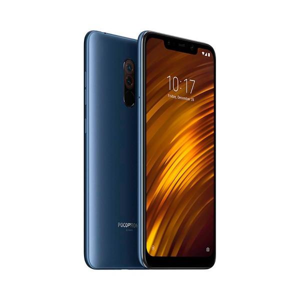 Pocophone f1 (xiaomi) azul móvil 4g dual sim 6.18'' ips fhd+/8core/128gb/6gb ram/20mp+12mp/20mp