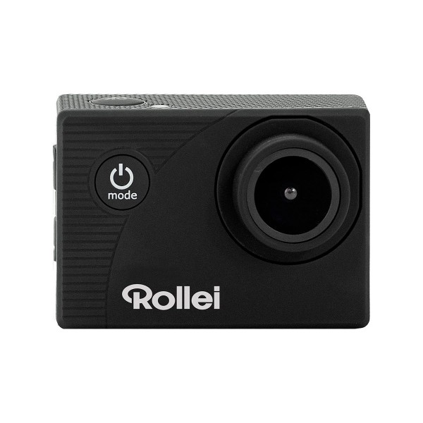 Rollei actioncam 372 negro cámara de acción vídeos en full hd 30fps 16mp wifi integrado gran angular 140º