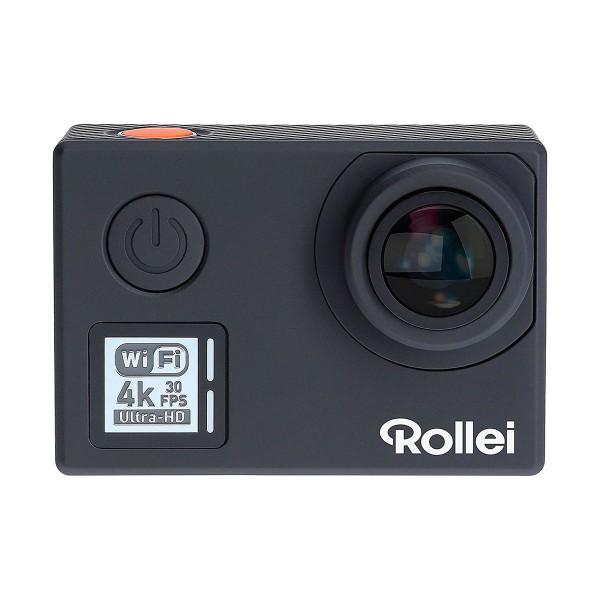 Rollei actioncam 530 negro cámara de acción vídeos en uhd 4k 30fps 14mp wifi integrado gran angular 170º
