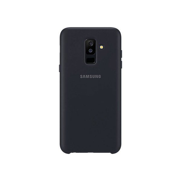 Samsung dual layer cover negro carcasa samsung galaxy a6+ (2018)