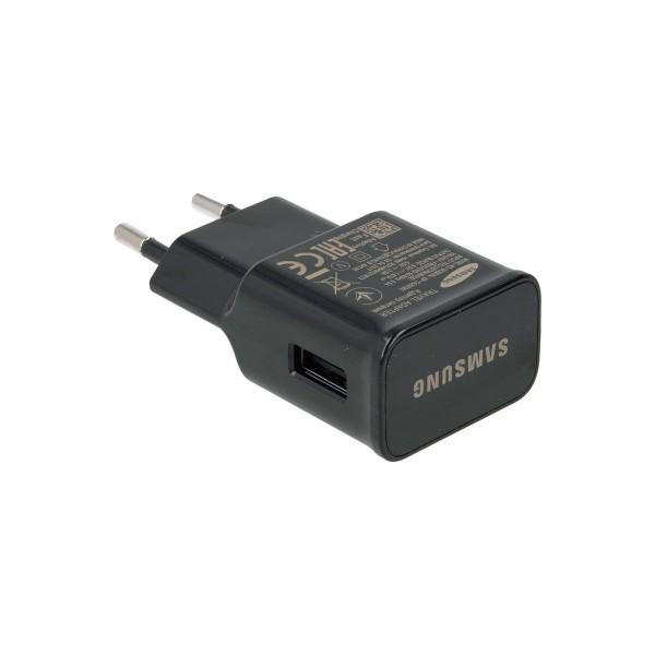Samsung ep-ta20ebe negro cargador original de samsung con carga rápida