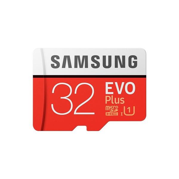 Samsung evo plus tarjeta de memoria microsd 32gb de capacidad 95mb/s con adaptador sd